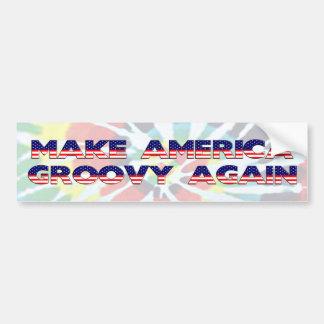 Haga América otra vez a la pegatina para el