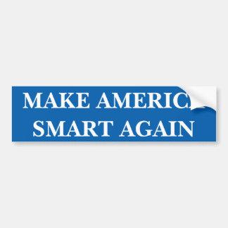 Haga América Smart una vez más pegatina para el