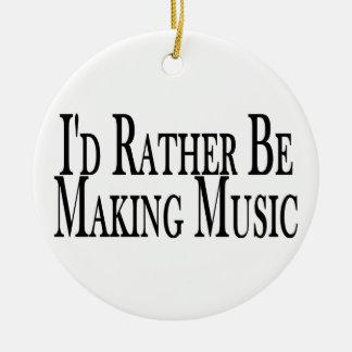 Haga bastante la música adorno