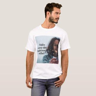 Haga cada camisa moderado mortal del día