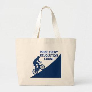 Haga cada cuenta de la revolución bolso de tela gigante