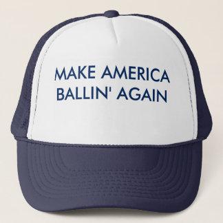 Haga el gorra de América Ballin otra vez