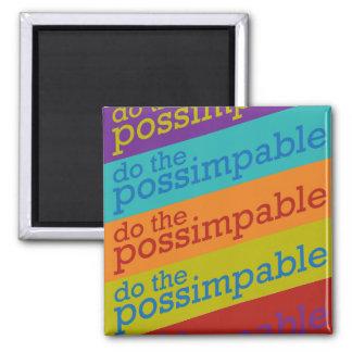 Haga el imán de Possimpable