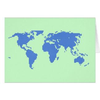haga el mundo una mejor tarjeta de felicitación