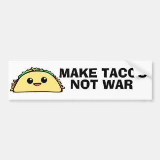 Haga el Tacos Pegatina Para Coche