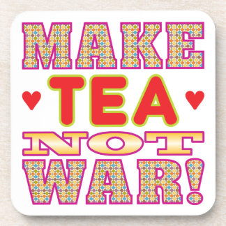 Haga el té v2 posavasos de bebidas