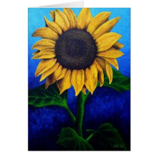 Haga frente a la tarjeta de Sun