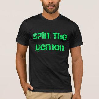 Haga girar al demonio camiseta