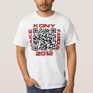 Haga Kony el código video famoso José Kony de 2012 Camisetas