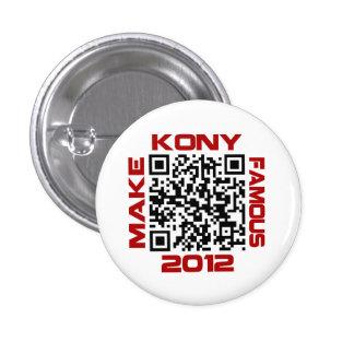 Haga Kony el código video famoso José Kony de 2012 Pin
