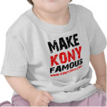 Haga Kony famoso - Kony 2012 Camiseta