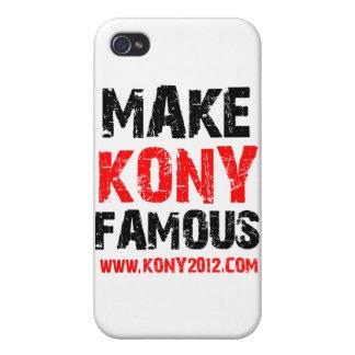 Haga Kony famoso - Kony 2012 iPhone 4 Coberturas