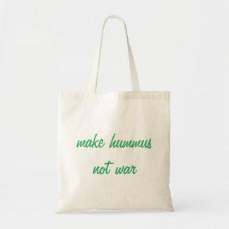Haga la bolsa de asas de Hummus
