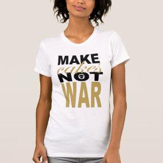 haga la guerra de las tortas no camiseta