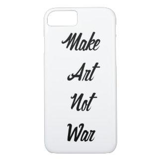 Haga la guerra del arte no funda iPhone 7