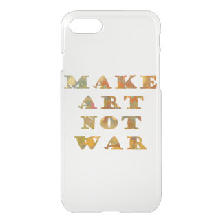 Haga la guerra del arte no funda para iPhone 7