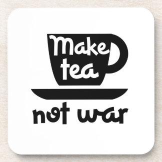 Haga la guerra del té no posavasos