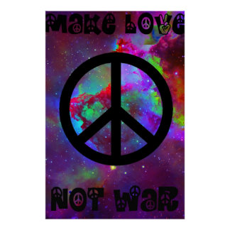 Haga la guerra I del amor no Póster