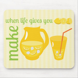 Haga la limonada tapete de ratón