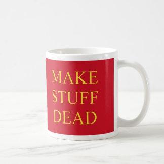 Haga la materia muerta taza de café