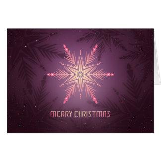 Haga la tarjeta de Navidad de las memorias felices