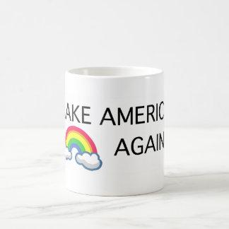 Haga la taza de café del gay de América otra vez -