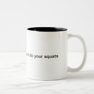 Haga la taza de café del trabajo