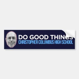 Haga las buenas cosas (público - las ventas en el pegatina para coche