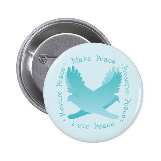Haga las paces, restaure la paz, coto, paz del amo pins