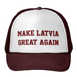Haga Letonia grande otra vez Gorro
