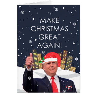 Haga navidad la gran otra vez tarjeta del día de