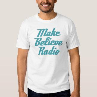 Haga para creer poner letras de radio de la camiseta