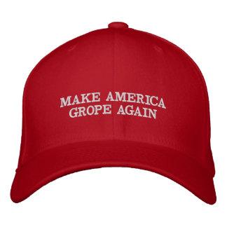 Haga que América da palos de ciego otra vez: Gorra Gorras De Béisbol Bordadas
