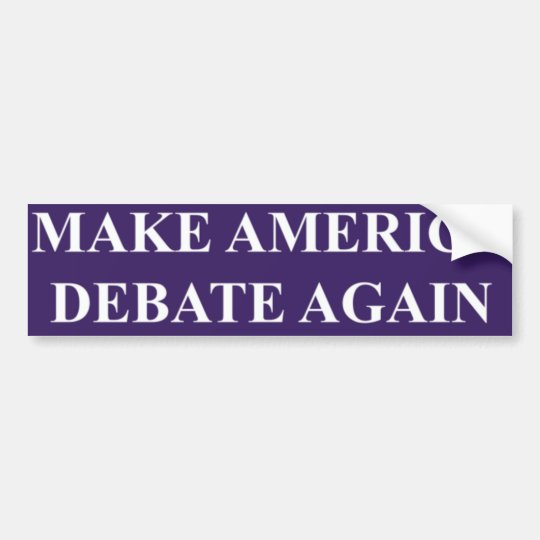 Haga que América discute otra vez a la pegatina Pegatina Para Coche