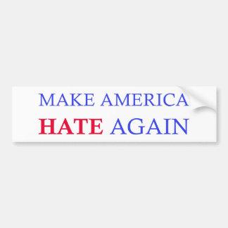 Haga que América odia otra vez Pegatina Para Coche