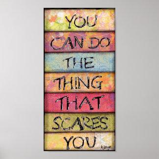 Haga qué le asusta - diversión, arte inspirado