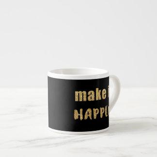 Haga que sucede taza de espresso