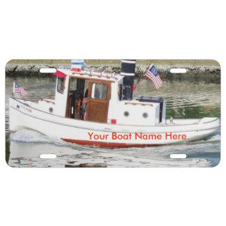 Haga su placa de encargo del barco