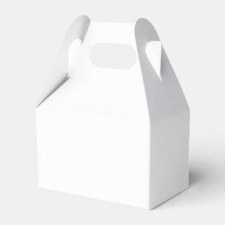 Haga su propia caja impresa personalizado del cajas para regalos de fiestas