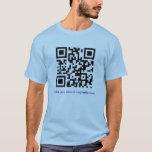 Haga su propia camisa del código de QR