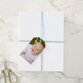 Haga su propio de una clase personalizada etiquetas para regalos