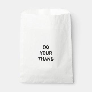 Haga su Thang.  Cita de motivación Bolsa De Papel