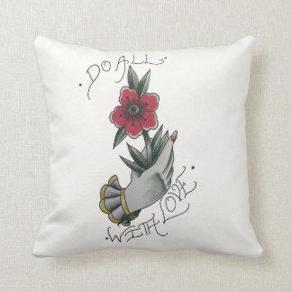 Haga todos con la almohada de tiro del amor