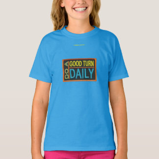 Haga un diario de la buena vuelta camiseta