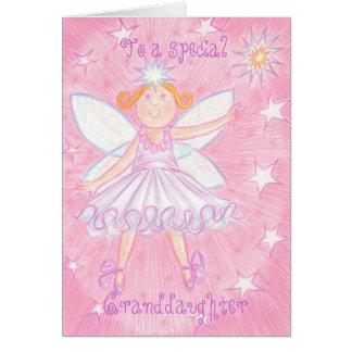 """Haga una tarjeta de cumpleaños de la """"nieta"""