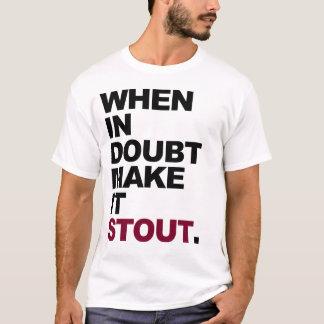 Hágale la cerveza de malta camiseta
