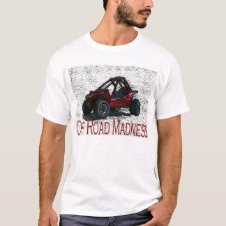 Hágalo en la suciedad con de locura del camino camiseta