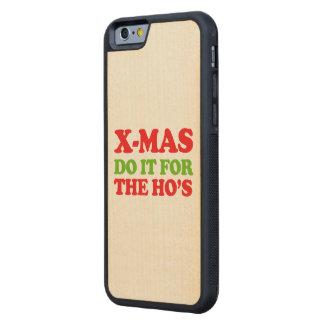 Hágalo para los hos -- Humor del día de fiesta Funda De iPhone 6 Bumper Arce