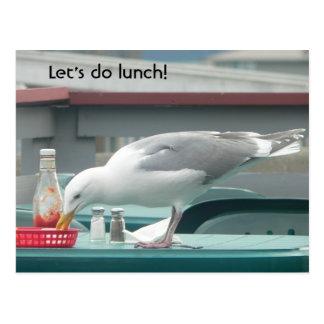 """""""Hagamos el almuerzo!"""" Postal"""