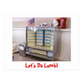 ¡Hagamos el almuerzo! Tarjetas Postales